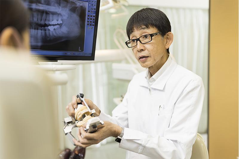 経験豊富な補綴指導医による、精度の高い補綴治療 東京都中央区銀座オーク銀座歯科